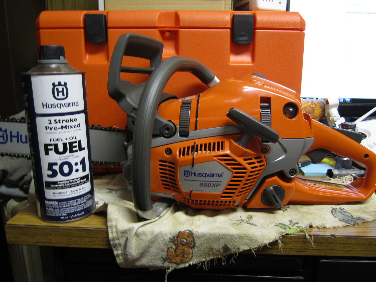 I bought a new husqvarna 550xp it starts up cold chainsaws forum ans - Comparatif debroussailleuse stihl husqvarna ...
