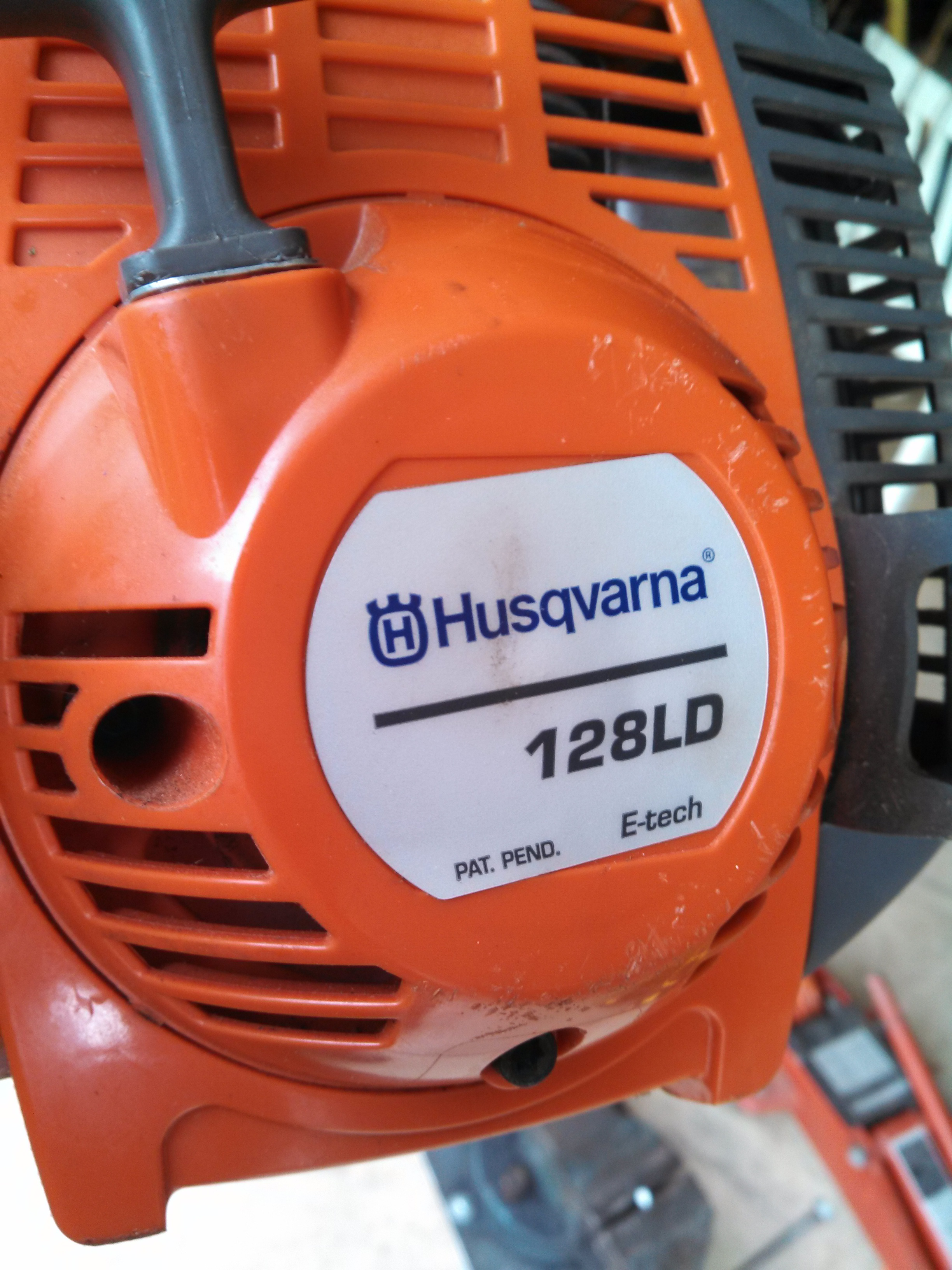 I purchased a Husqvarna 128LD from Lowes several      String